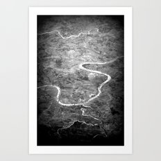 Rivers of India Art Print