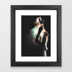 In Color Framed Art Print