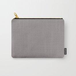 Dunn & Edwards 2019 Trending Colors Ashen Plum (Pale Purple Gray) DE6396 Solid Color Carry-All Pouch