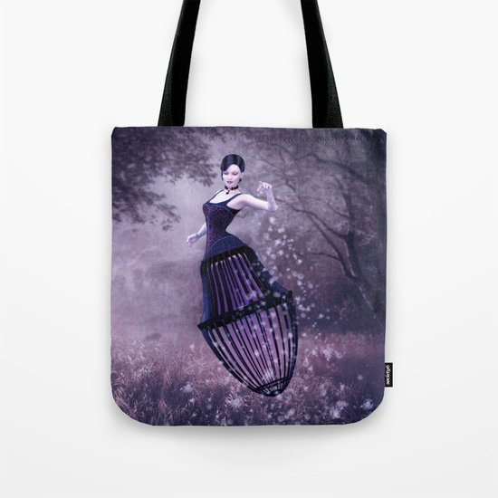 Black magic fairy Tote Bag
