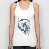 fairy Tank Tops featuring Fairy by clayscence