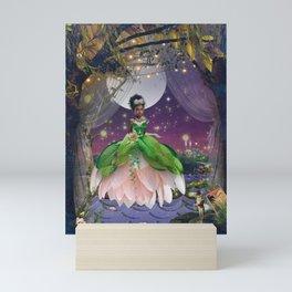 Princess & The Frog Mini Art Print