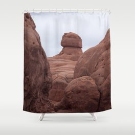 Rocky Formation Shower Curtain