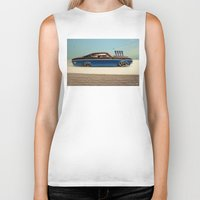 tame impala Biker Tanks featuring Impala 65 by Marko Köppe