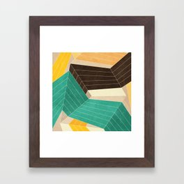 Lines Inside Framed Art Print