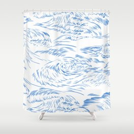 MicroWave Goodbye Shower Curtain