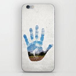 Earth Print iPhone Skin