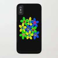 60s iPhone & iPod Cases featuring Flower Power 60s-70s by dedmanshootn