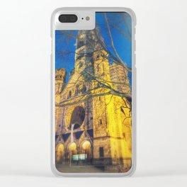 Memorial Church Clear iPhone Case