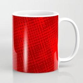 Red Grunge Background Coffee Mug