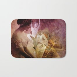 All of her days are written in His Book. Bath Mat
