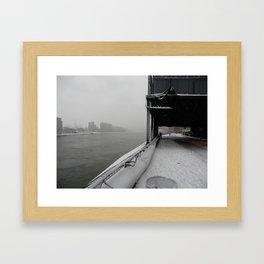Cold Desolation. Framed Art Print