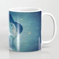 fringe Mugs featuring Fringe - Obserververse by Laura Racero