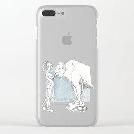 Buffallo Whisperer Clear iPhone Case