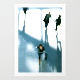 Winter Shadows Art Print