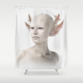 Troika zero-one Shower Curtain