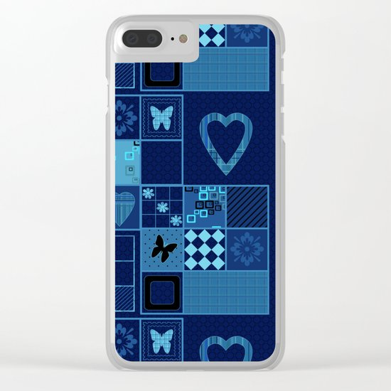 Summer night . Clear iPhone Case