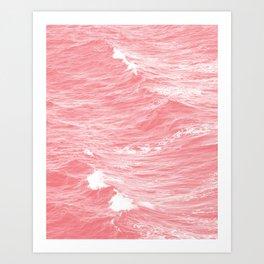 Pink Sea Art Print