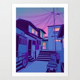 Kyoto Alley Art Print