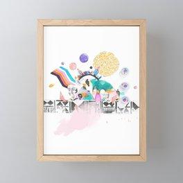 Utopiaverse Framed Mini Art Print