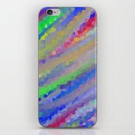 Crystallized Pastel Waves. iPhone Skin