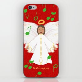 Christmas Angels iPhone Skin