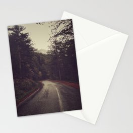 Wander inside the mountains Stationery Cards