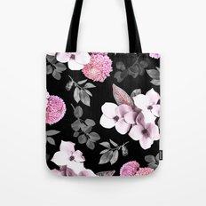 Night bloom - pink blush Tote Bag
