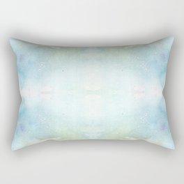 Abstract Sunrise Watercolor Texture Rectangular Pillow