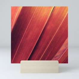 Rust and Gold Palm Fronds Mini Art Print