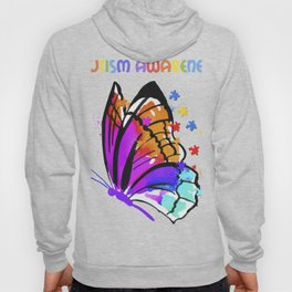 Autism Awareness Butterfly Gift Design Idea product Hoody