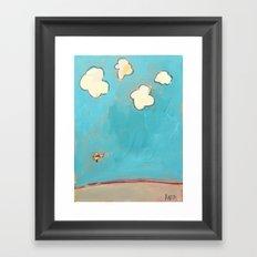 Putt-Putt Framed Art Print