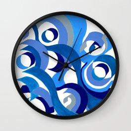 Seigaiha Series - Tenderness Wall Clock