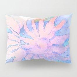 NAUTILUS CONCH SEA SHELL IMPRESSION Pillow Sham
