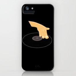 Dj Scratch iPhone Case