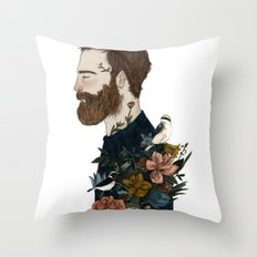 MNwithsomething Throw Pillow