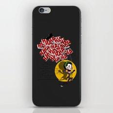 Jokahahaha iPhone & iPod Skin