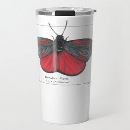Cinnabar Moth Travel Mug