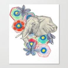 Elephanté Canvas Print