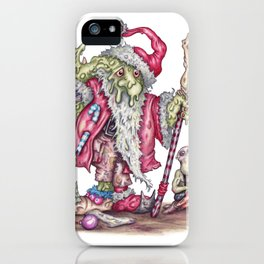 Santanist Horc iPhone Case