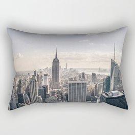 NYC Skyline Rectangular Pillow