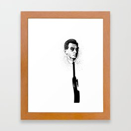 neck support Framed Art Print