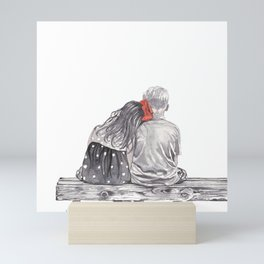 Boy Meets Girl Mini Art Print
