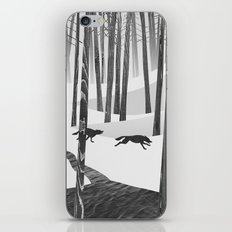 Martwood Wolves iPhone & iPod Skin