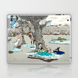 Books Coming to Life: Frozen Laptop & iPad Skin