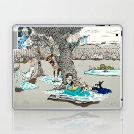 Books Coming to Life: Frozen Laptop & iPad Skin