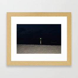 Green Gatsby Framed Art Print
