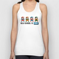 mario Tank Tops featuring Mario by PixelPower