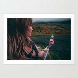 Beyond The Loch Art Print