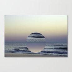 Ocean Sunrise Remix Canvas Print